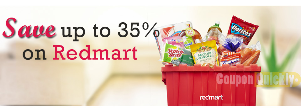 Redmart Groceries Singapore Discount Code
