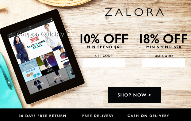 zalora sg coupon code for June 2015